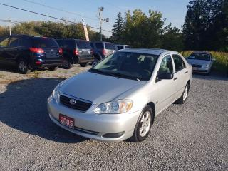 Used 2005 Toyota Corolla SE POWER SUNROOF for sale in Gormley, ON