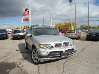 Used 2006 BMW X5 AUTO AWD 4.8is NAVIGATION,DVD,PANORAMIC ROOF AC for sale in Oakville, ON