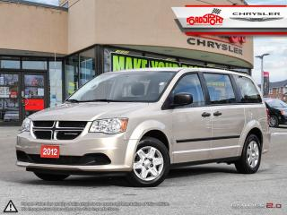 Used 2012 Dodge Grand Caravan SE 7 PASSENGER KEYLESS REAR STOW AND GO for sale in Scarborough, ON