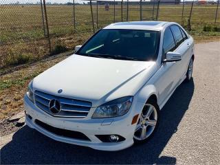 Used 2010 Mercedes-Benz C-Class C300 4Matic **ACCIDENT FREE** for sale in Brampton, ON