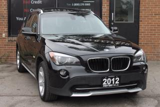 Used 2012 BMW X1 xDrive28i AWD *SPORT PKG, PANO ROOF, CERTIFIED* for sale in Scarborough, ON