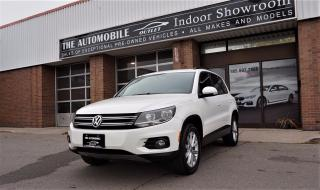 Used 2012 Volkswagen Tiguan AWD PANO ROOF BLUETOOTH NO ACCIDENT for sale in Mississauga, ON