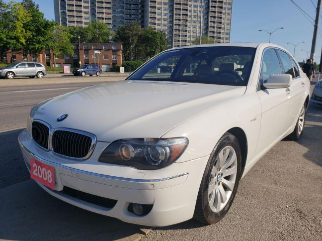 2008 BMW 750i 4.8L/Bluetooth/Leather/Sunroof/Aux/Heated Seats
