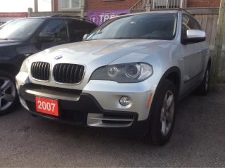 Used 2007 BMW X5 3.0si/Bluetooth/Leather/Sunroof/Heated Seats for sale in Scarborough, ON