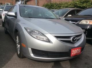 Used 2009 Mazda MAZDA6 GS 4 CYL. LOW KM ONLY 114K for sale in Scarborough, ON