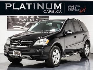 Used 2006 Mercedes-Benz ML 350 4MATIC, NAVI, SUNROOF, HARMAN KARDON for sale in Toronto, ON