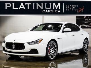 Used 2016 Maserati Ghibli S Q4 SPORT, PREMIUM, LUXURY, NAVI, CAM for sale in Toronto, ON