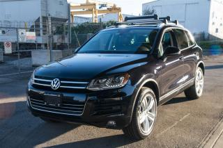 Used 2013 Volkswagen Touareg 3.0 TDI Execline Loaded Turbo Diesel! for sale in Langley, BC