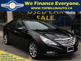 Used 2012 Hyundai Sonata 2.0T Limited, Pano Roof, Leather, 49K kms for sale in Concord, ON