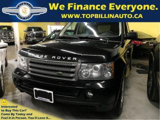 Used 2009 Land Rover Range Rover Sport HSE, Fully Loaded, 2 YEARS WARRANTY for sale in Concord, ON