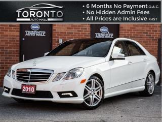 Used 2010 Mercedes-Benz E-Class E350 4MATIC+AMG+Navi+Panoramic+Attention Assist for sale in North York, ON