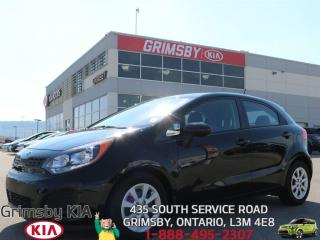 Used 2015 Kia Rio LX+...COMMUTING CHAMPION!!! for sale in Grimsby, ON