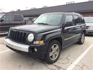 Used 2008 Jeep Patriot Limited AS IS FWD for sale in Concord, ON