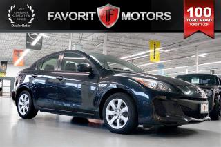 Used 2012 Mazda MAZDA3 GX | BLUETOOTH* | POWER WINDOWS for sale in North York, ON