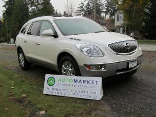 Used 2011 Buick Enclave CXL, NAV, MOON, DVD, INSP, WARR for sale in Surrey, BC