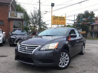 Used 2014 Nissan Sentra SV*Push2Start*AllPwrOpti*NissanWarranty* for sale in York, ON
