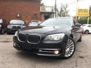 Used 2013 BMW 7 Series 740Li xDrive*Navi*Cam*Massage*FullOption* for sale in York, ON