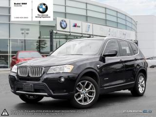Used 2014 BMW X3 xDrive28i AWD | NAV | SUNROOF | BLUETOOTH for sale in Oakville, ON