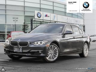 Used 2015 BMW 328i xDrive Sedan AWD | REAL TIME TRAFFIC INFO for sale in Oakville, ON