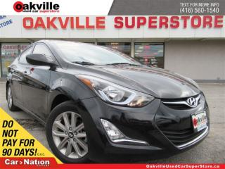 Used 2016 Hyundai Elantra GL | SUNROOF | B/U CAM | BLUETOOTH | A/C for sale in Oakville, ON