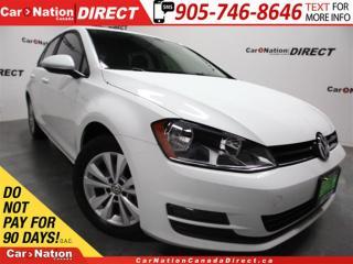 Used 2015 Volkswagen Golf 1.8 TSI Comfortline| LEATHER| BACK UP CAMERA| for sale in Burlington, ON
