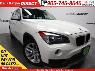 Used 2015 BMW X1 xDrive28i| PANO ROOF| LEATHER| PUSH START| for sale in Burlington, ON