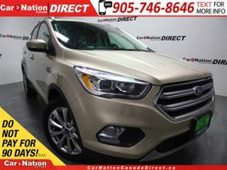 Used 2017 Ford Escape Titanium| LEATHER| NAVI| BACK UP CAMERA| for sale in Burlington, ON