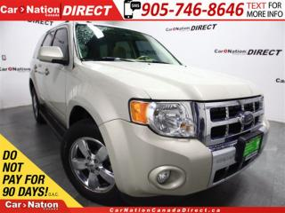 Used 2009 Ford Escape Limited| 4X4| LOW KM'S| LEATHER| SUNROOF| for sale in Burlington, ON