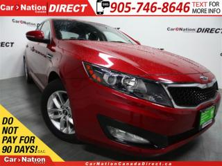 Used 2011 Kia Optima LX| POWER DRIVERS SEAT| HEATED SEATS| for sale in Burlington, ON