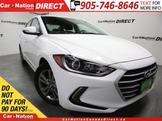 Used 2018 Hyundai Elantra GL| BLIND SPOT DETECTION| BACK UP CAMERA| for sale in Burlington, ON