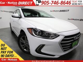 Used 2018 Hyundai Elantra GL  BLIND SPOT DETECTION  BACK UP CAMERA  for sale in Burlington, ON