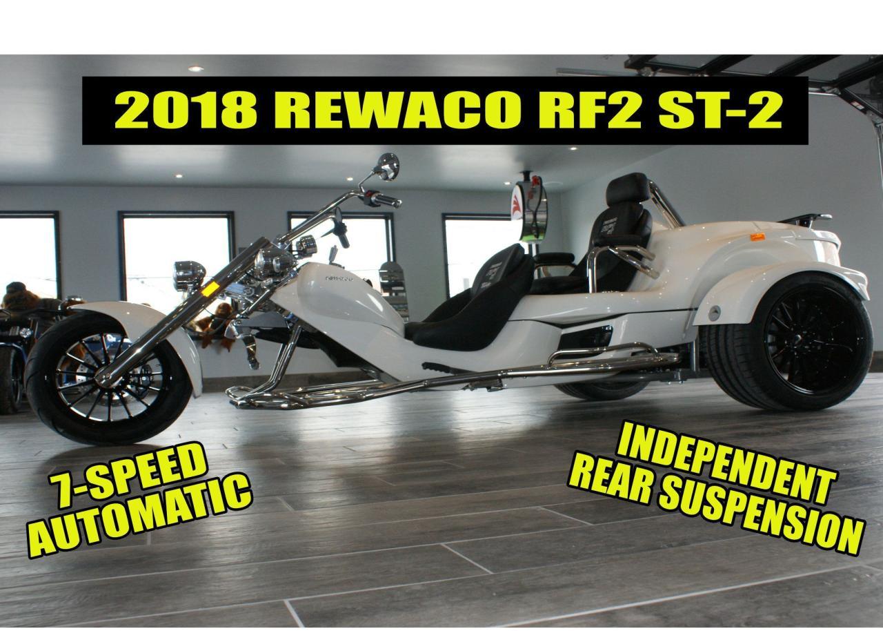 2018 Rewaco RF2 ST-2 Tour Back Turbo Trike
