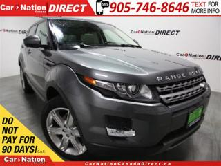 Used 2015 Land Rover Evoque Pure Plus| LEATHER| PANO ROOF| NAVI| for sale in Burlington, ON