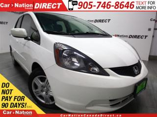 Used 2013 Honda Fit LX| WE WANT YOUR TRADE| OPEN SUNDAYS| for sale in Burlington, ON