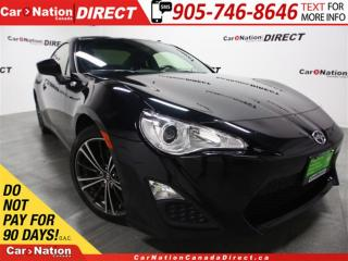 Used 2015 Scion FR-S | TOUCH SCREEN| ONE PRICE INTEGRITY| for sale in Burlington, ON