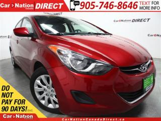 Used 2011 Hyundai Elantra GL| HEATED SEATS| LOW KM'S| OPEN SUNDAYS| for sale in Burlington, ON