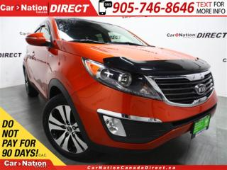 Used 2012 Kia Sportage EX Luxury| AWD| NAVI| LEATHER| DUAL SUNROOF| for sale in Burlington, ON