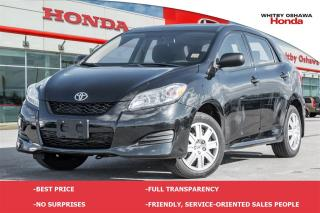 Used 2014 Toyota Matrix Base   Automatic for sale in Whitby, ON