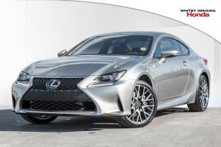 Used 2017 Lexus RC 350 Coupe | Automatic for sale in Whitby, ON