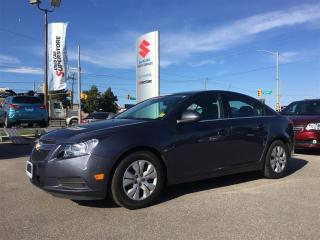 Used 2014 Chevrolet Cruze ~Turbo ~Comfortable ~Top Five-Star Safety Rating for sale in Barrie, ON