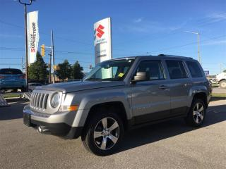 Used 2016 Jeep Patriot High Altitude 4X4 ~P/Sunroof ~P/H/Leather for sale in Barrie, ON
