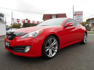 Used 2012 Hyundai Genesis Coupe GT V6 NAV/LEATHER/ROOF for sale in Guelph, ON