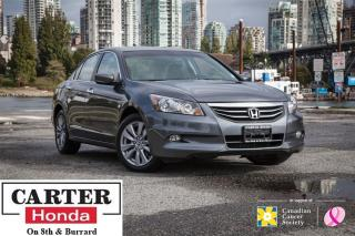 Used 2012 Honda Accord EX-L V6 + LOCAL + LOW KMS + LEATHER for sale in Vancouver, BC