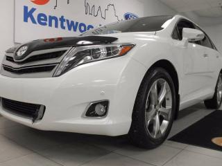 Used 2015 Toyota Venza LIMITED AWD, NAV, twin panel sunroof, power liftgate, back up cam, heated seats! for sale in Edmonton, AB