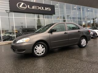Used 2007 Toyota Corolla 4-door Sedan CE for sale in Surrey, BC