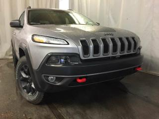 Used 2017 Jeep Cherokee Trailhawk 4x4 / GPS Navigation / Rear Back Up Camera for sale in Edmonton, AB