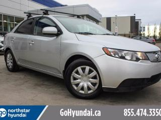 Used 2010 Kia Forte 2.0L LX AUTO/LOW KM/POWER OPTIONS for sale in Edmonton, AB