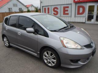 Used 2009 Honda Fit Sport 4dr Front-wheel Drive Hatchback for sale in Brantford, ON