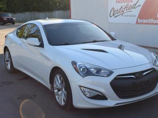 Used 2013 Hyundai Genesis Coupe 2.0T Premium 2dr Rear-wheel Drive for sale in Brantford, ON