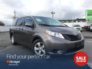 Used 2016 Toyota Sienna Quad Style Seating, Bluetooth, Camera for sale in Vancouver, BC